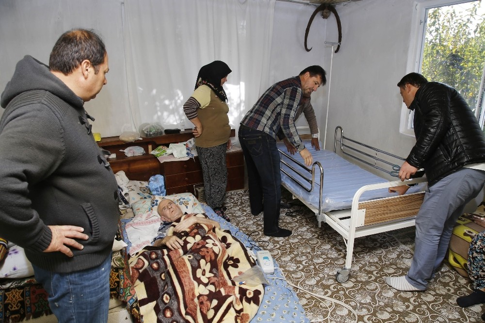 Döşemealtı Belediyesi'nden hastaya yardım eli