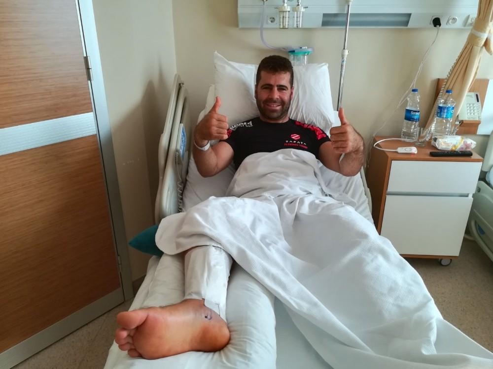 Flayboard kazasında ayağı kırılan milli sporcu o anları anlattı