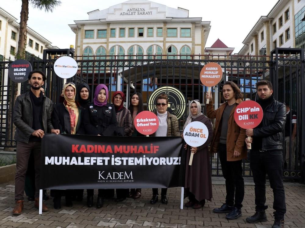 KADEM Antalya'dan Kılıçdaroğlu'na suç duyurusu