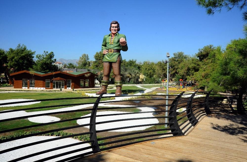 Kepez Belediyesi'nden yeni kent parkı