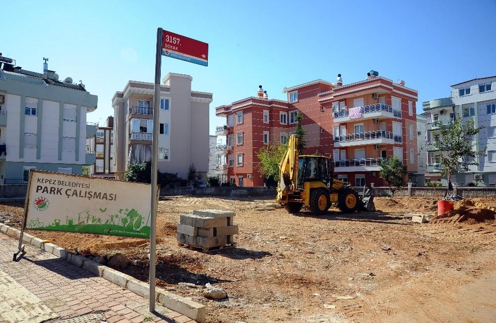 Kepez'den Ahatlı'ya yeni park – ahatlı haber