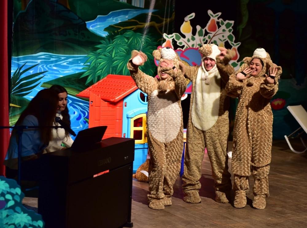 Kepez'den çocuklara müzikli masal