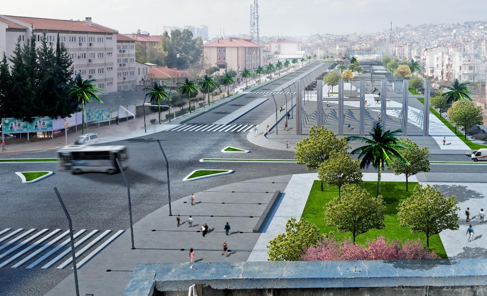 Kepez'e 'Kent Meydanı'