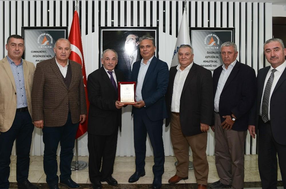 Kırcami'den Başkan Uysal'a teşekkür