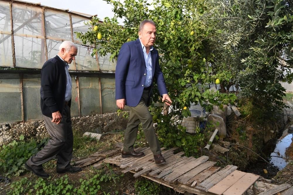 Konyaaltı Belediye Başkanı afet bölgesinde