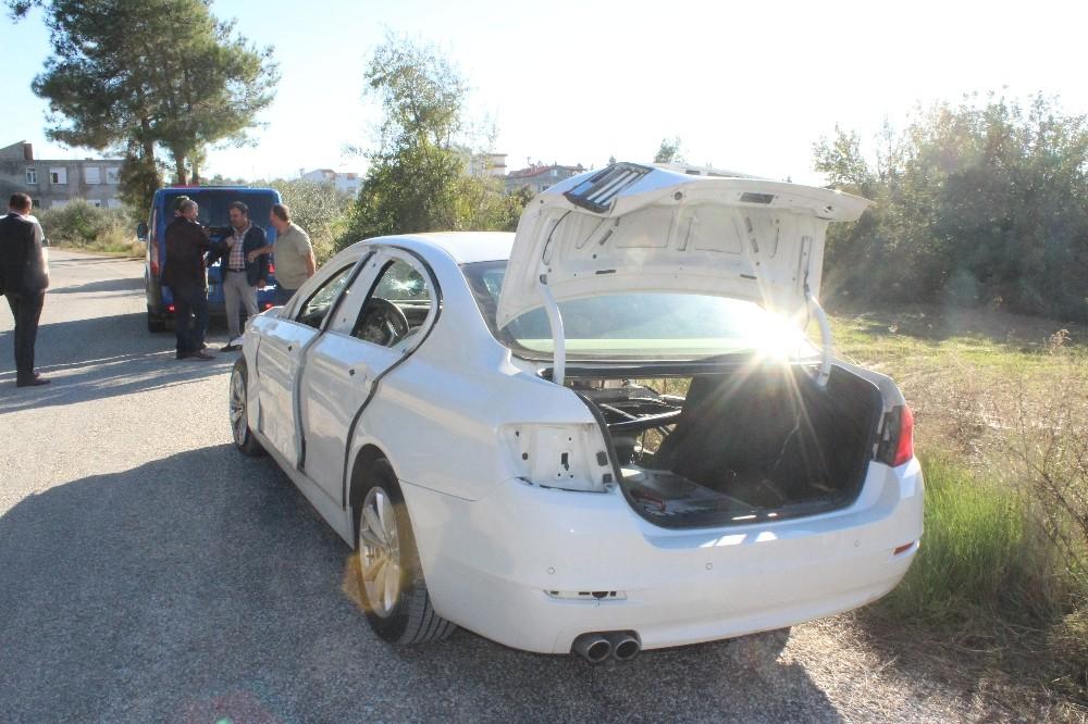 Manavgat'ta park halindeki meçhul araç bilmecesi