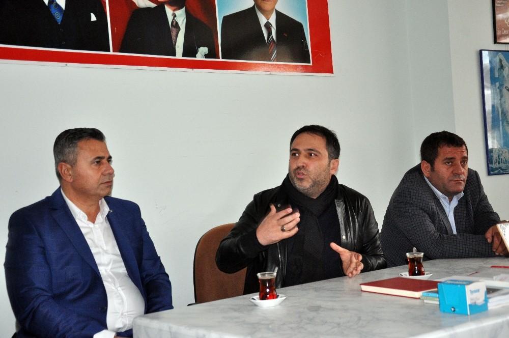 MHP İl Başkanı Aksoy, Finike'deki istifaları değerlendirdi