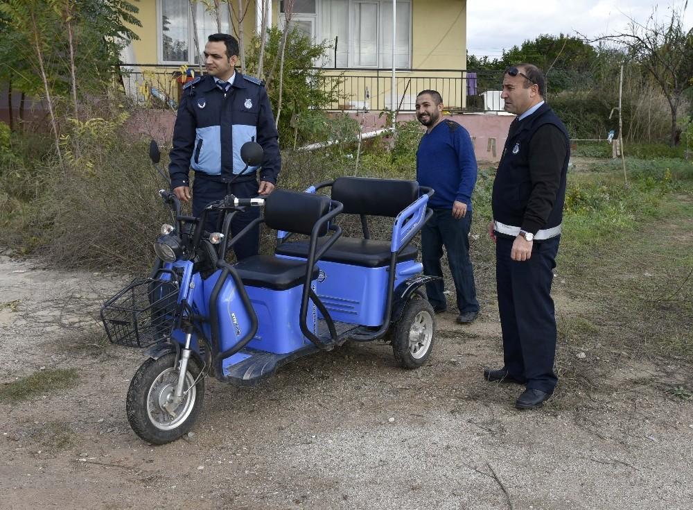 Muratpaşa Belediyesi'nden engelli vatandaşa yardım
