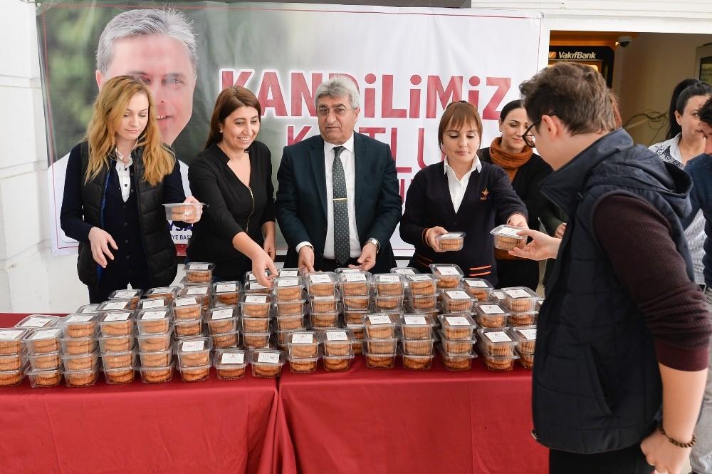 Muratpaşa Belediyesi'nden vatandaşlara kandil simidi