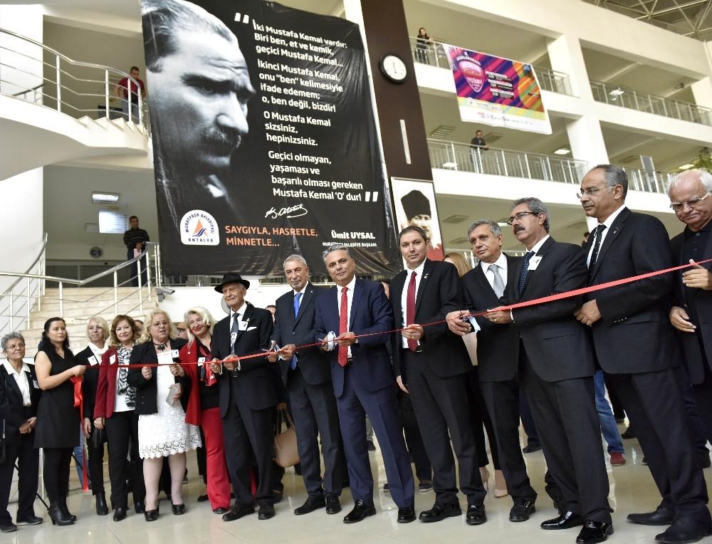 Muratpaşa'da 10 Kasım'a çok özel sergi