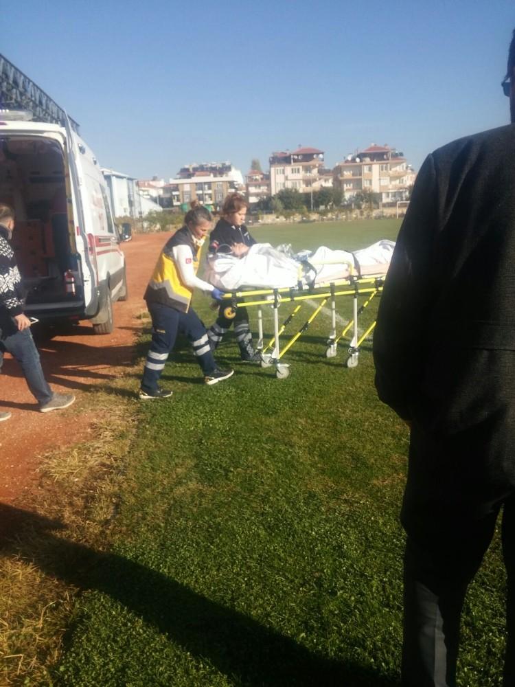 Sanayi sitesinde tiner dökülen soba patladı: 1 yaralı