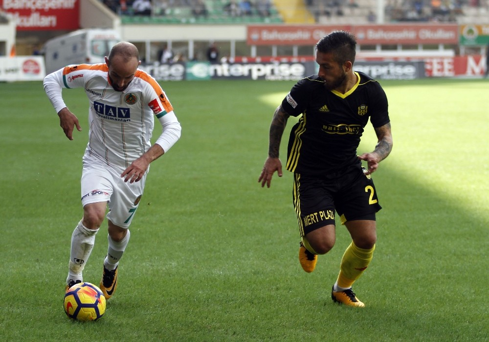 Süper Lig: A. Alanyaspor: 1 – E. Y. Malatyaspor: 0