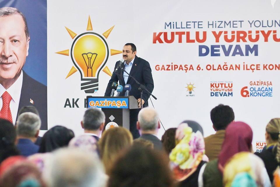 AK Parti Antalya'da ilçe kongrelerini tamamladı