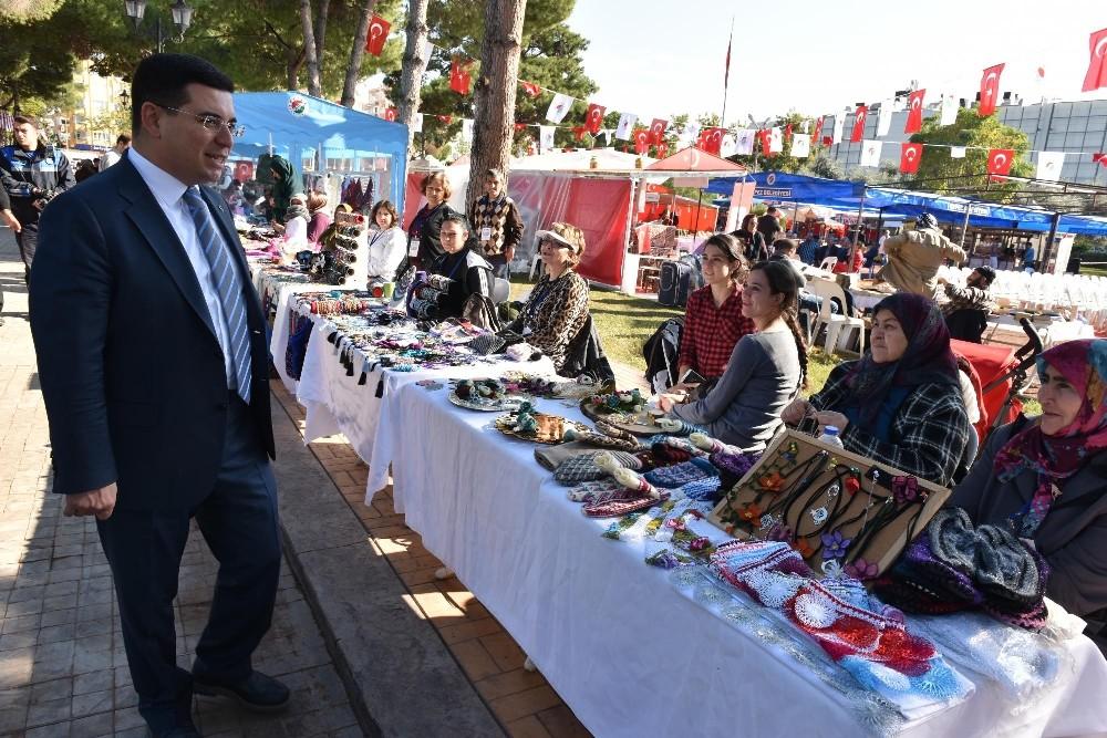 AKMEK'li kadınlar Kepez'de kazanıyor