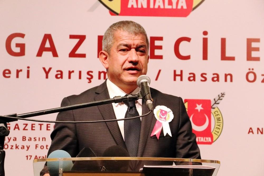 Antalya Gazeteciler Cemiyeti Başkanı Mevlüt Yeni: