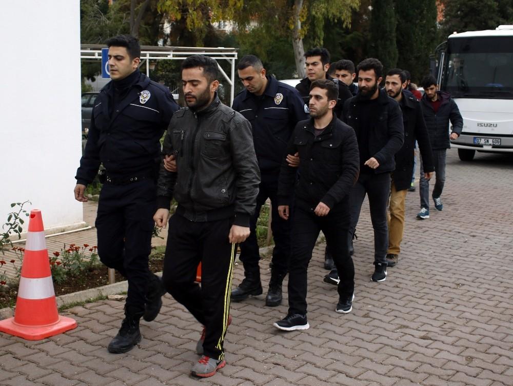 Antalya'da FETÖ'nün askeri mahrem yapılanması soruşturması: 11 tutuklama