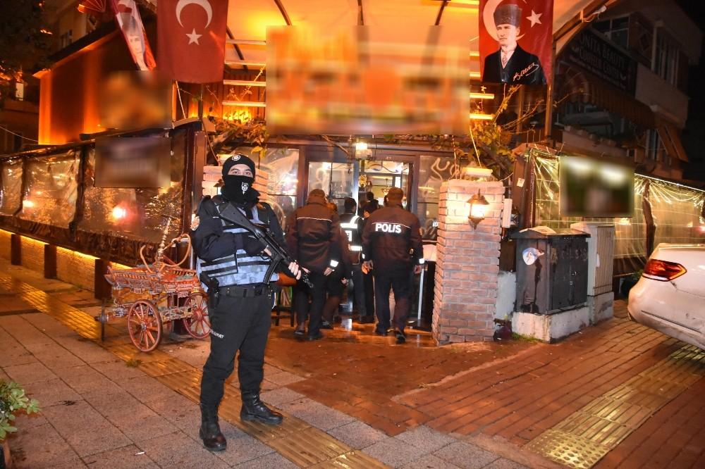 """Antalya'da """"Türkiye Güven Huzur Uygulaması 9"""""""