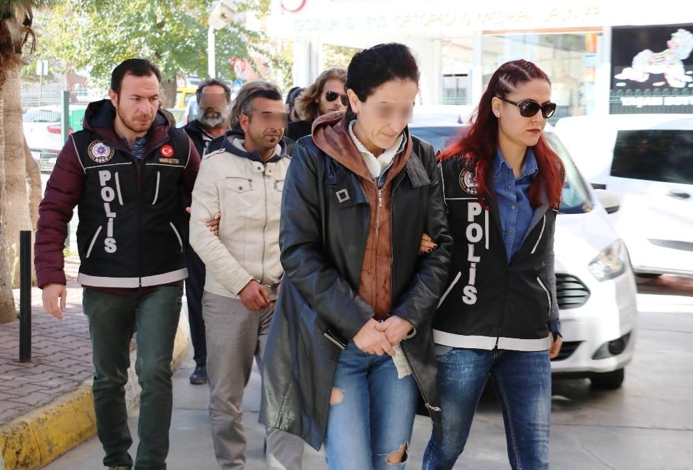 Antalya'da uyuşturucu operasyonu: 6 gözaltı