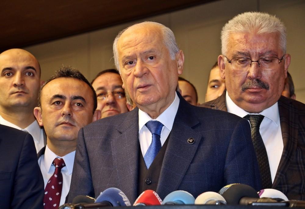 Bahçeli'den seçim ittifakı ve Ataşehir Belediye Başkanının görevden alınmasına ilişkin açıklama