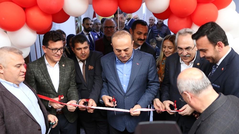 Bakan Çavuşoğlu, Alanya'da dernek açılışına katıldı