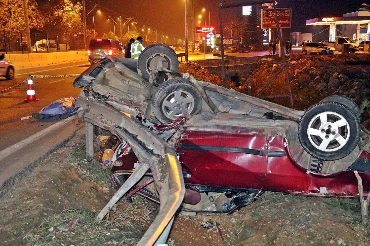 Bir kişinin hayatını kaybettiği feci kazada sürücü alkollü çıktı