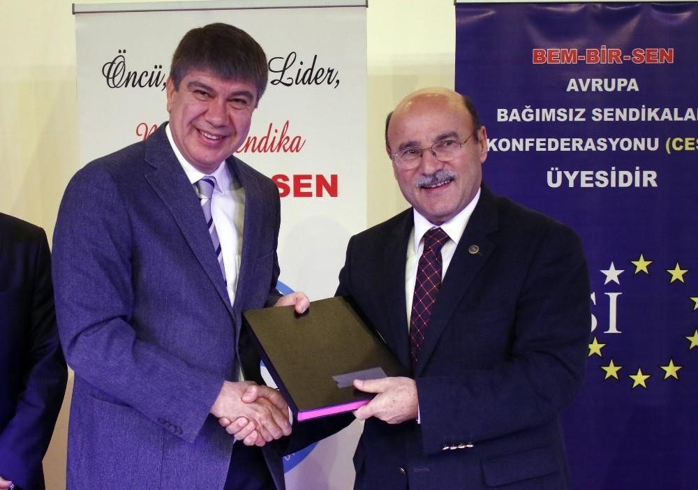 Büyükşehir Belediyesi, Sosyal Denge Tazminatı Sözleşmesi imzaladı