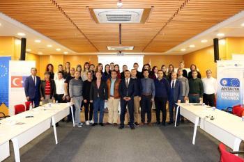 Büyükşehir personeline AB projesi hazırlama eğitimi