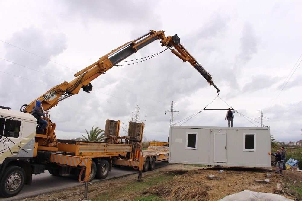 Büyükşehir'den konteyner ev