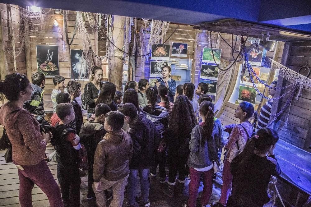 Büyükşehir'den öğrencilere Kaleiçi turu