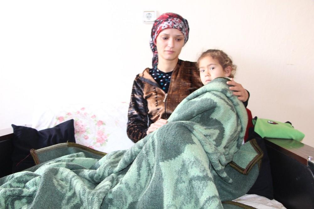 Eşi cezaevine giren anne, üç çocuğuyla tek başına yaşam mücadelesi veriyor