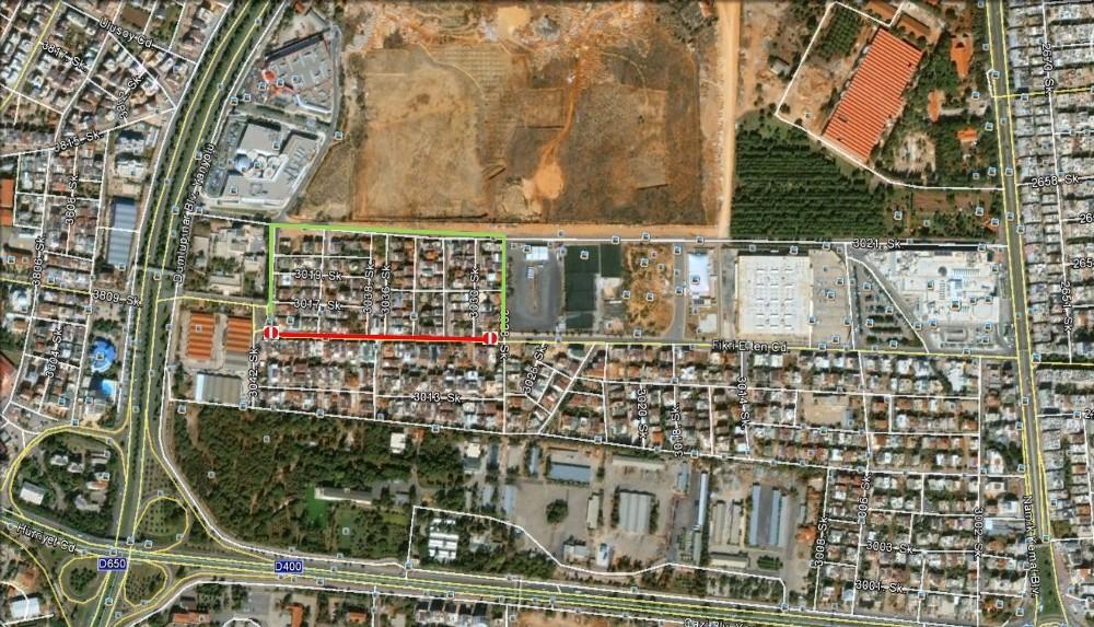 Fikri Erten Caddesi 16-28 Aralık'ta kapalı