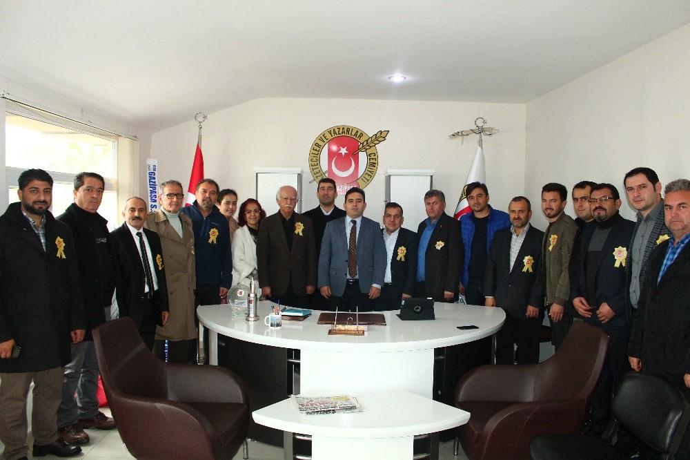 Gazipaşa Gazeteciler ve Yazarlar Cemiyeti ilk kongresini yaptı