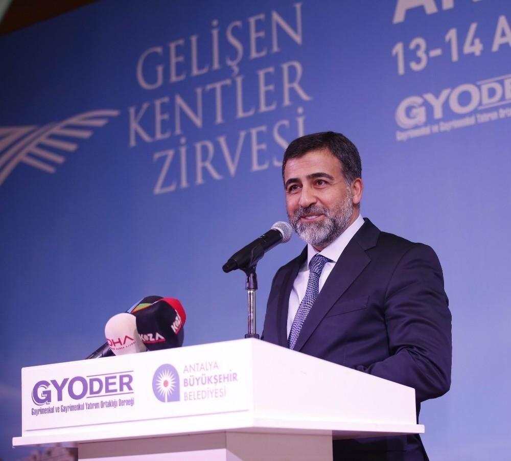 """GYODER, Antalya'nın, """"Yatırım Alanları Vizyon"""" Raporunu yayınladı"""