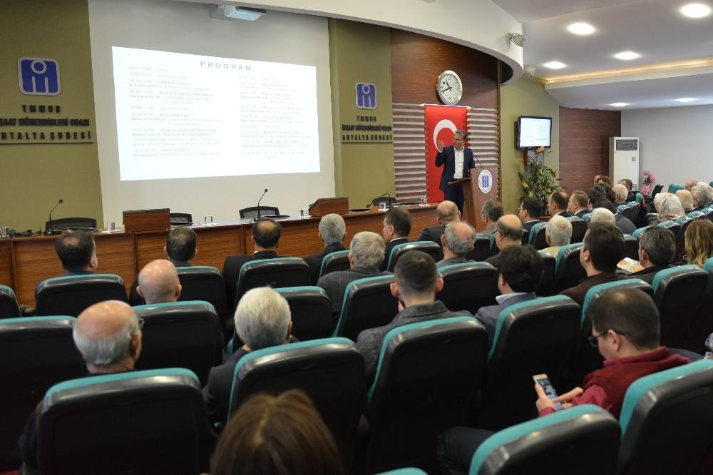 İMO'dan Kentsel Dönüşüm Çalıştayı