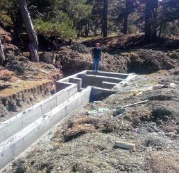 Kaş Yaylaçavdır'a kapalı devre sulama sistemi