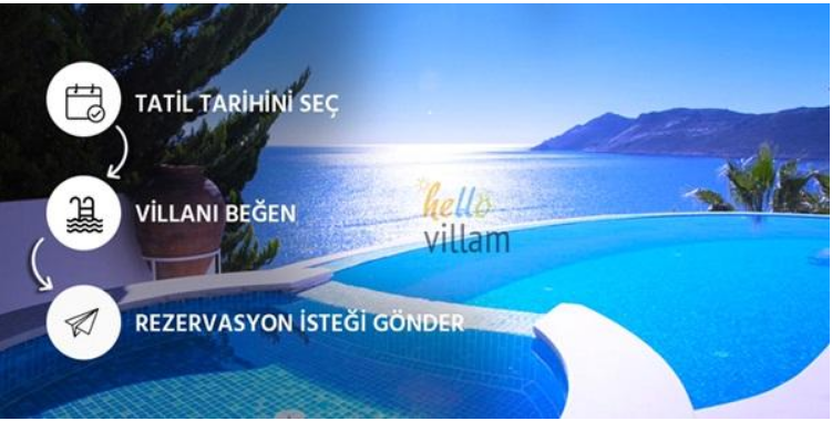 Antalya Kiralık Villa İlanları Hellovillam'da!