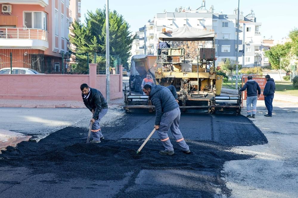 Kızıltoprak'ta yoğun çalışma