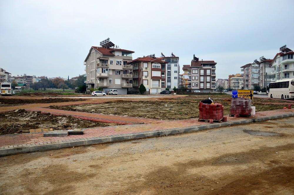 Manavgat Belediyesi'nden Eski Hisar'a yeni park