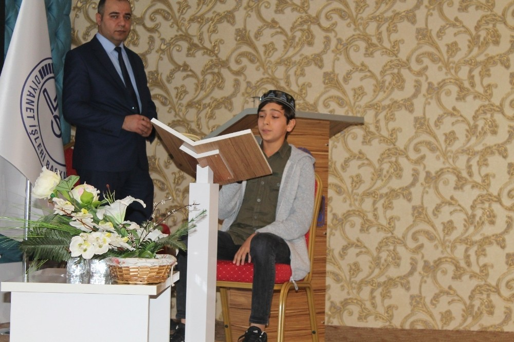 Manavgat'ta Kur'an-ı Kerim'i güzel okuma yarışması