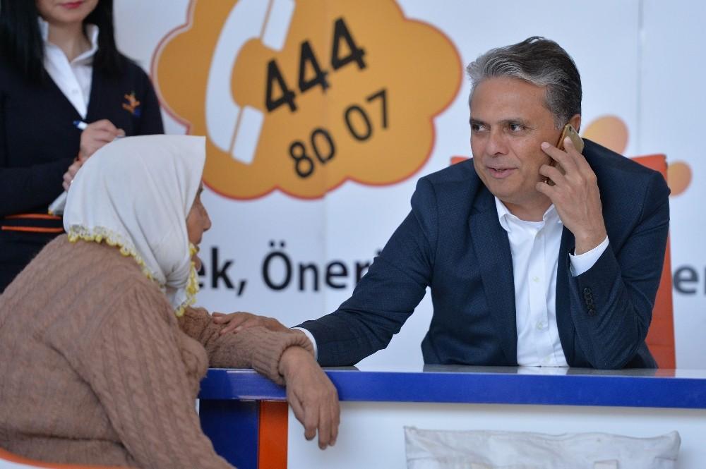 Muratpaşa'da randevusuz görüşmeler devam ediyor