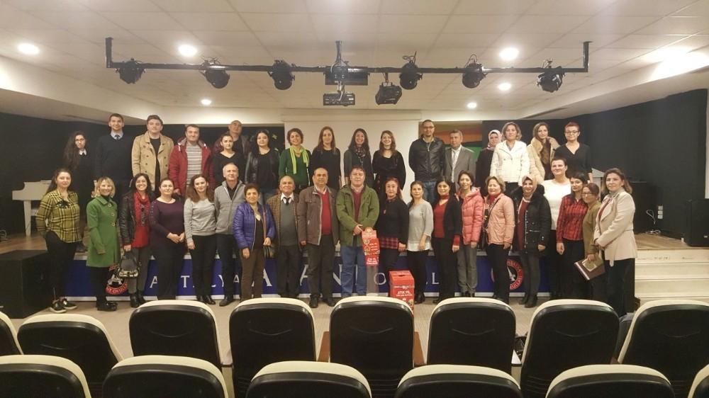 Öğretmenlere atık pil semineri