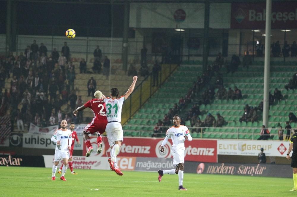 Süper Lig: Alanyaspor: 1 – Sivasspor: 1 (Maç sonucu)