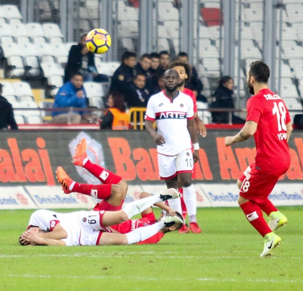 Süper Lig: Antalyaspor: 1 – Gençlerbirliği: 1 (Maç sonucu)