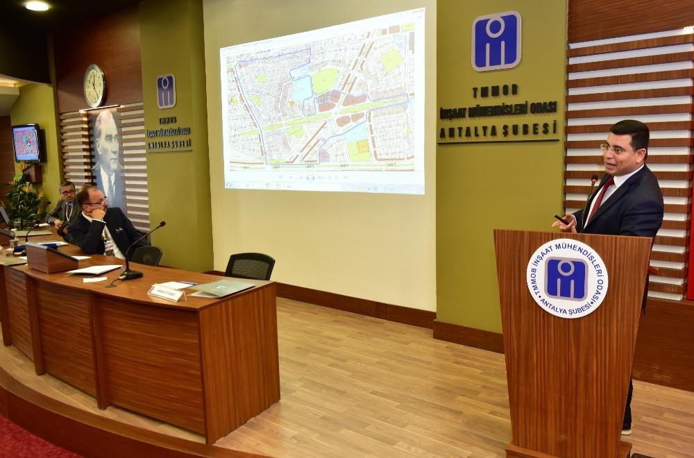 Tütüncü Kentsel Dönüşüm Çalıştayı'na katıldı