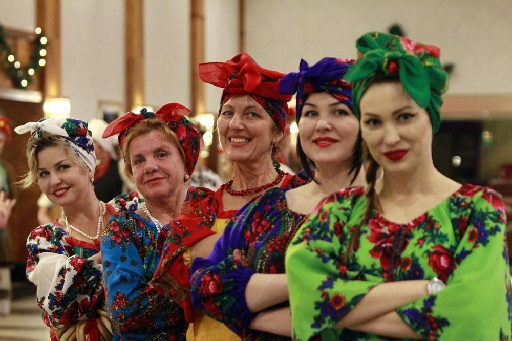Ukraynalılar festivalde buluştu