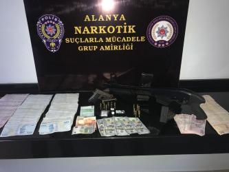 Uyuşturucu taciri polisten kaçamadı Alanya Haberleri