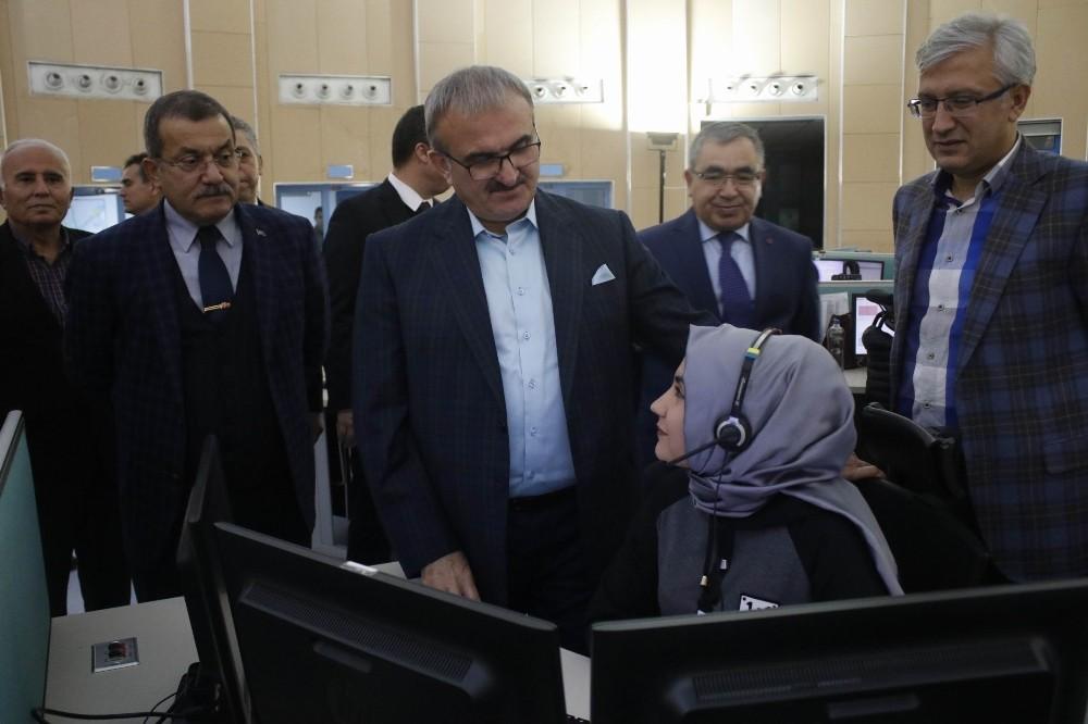 Vali Karaloğlu'ndan kamu personellerine yılbaşı ziyareti