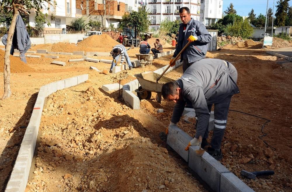 Yenidoğan Mahallesine yeni park