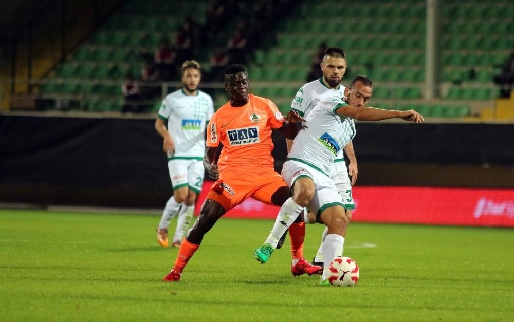 Ziraat Türkiye Kupası: A. Alanyaspor: 2 – AÇ Giresunspor: 2
