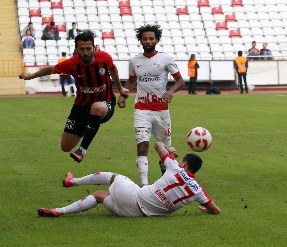 Ziraat Türkiye Kupası: Antalyaspor: 2 – Orhangazi Belediyespor: 3
